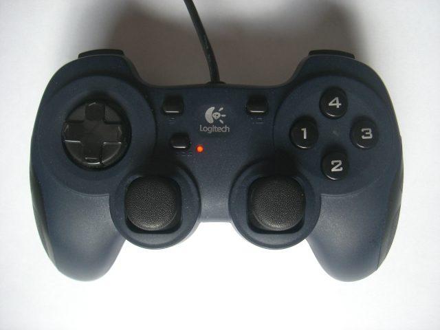 Mon joystick :D